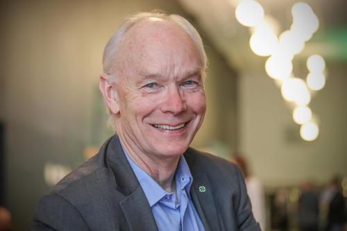 Stortingsrepresentant Per Olaf Lundteigen (Sp) var en av innlederne på fagmøtet.