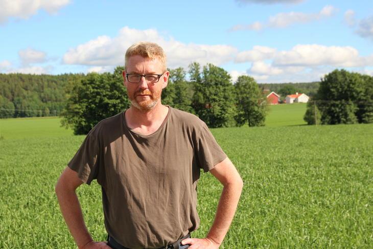 Bjørn Gimming, leder av Norges Bondelag.